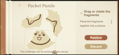 Packet Puzzle