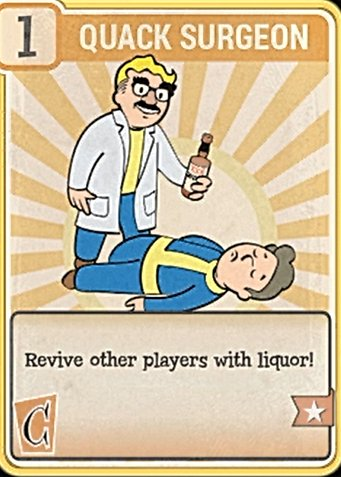 Fallout 76 Perk Card Charisma Quack Surgeon