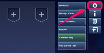 Fortnite How to Edit Settings on iOS and Android