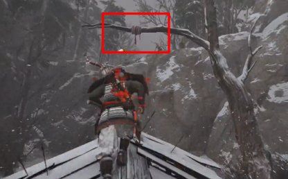 Jump & Use Iron Hook To Get To Ledge