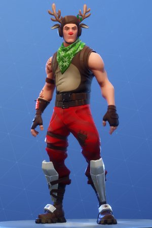 Skin Outfit RED-NOSED RANGER
