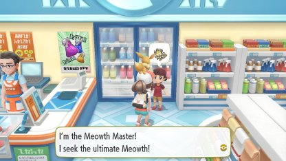 Meowth Master Trainer