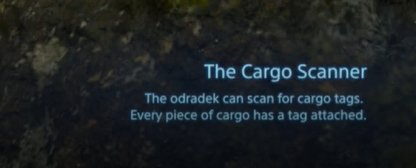 Doubles As Cargo Scanner