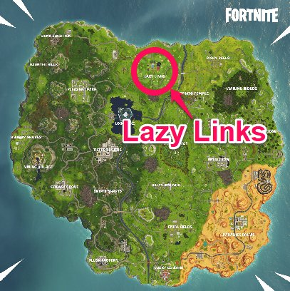 Stage 1: Land at Lazy Links