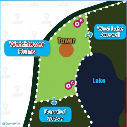 Watchtower Ruins den Location map