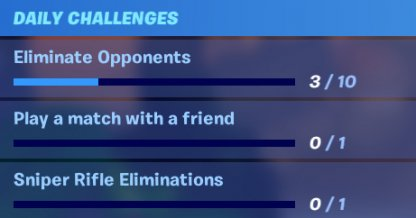 Track Your Challenges