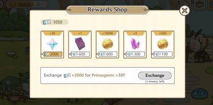 Get Paradise Tickets To Purchase Rewards