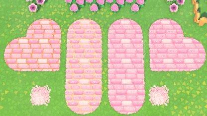 pink path