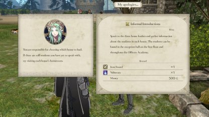 Fire Emblem 3 Houses Point of Divergence: Story