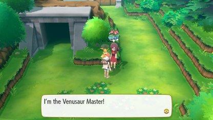 Venusaur Master Trainer