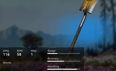 Far Cry New Dawn Optimism Shovel