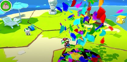 Fill Up Holes with Confetti