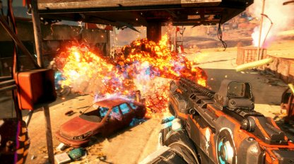 RAGE 2 Superhero Powers Used In Combat