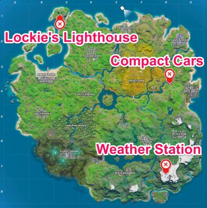 Fortnite | Lockie's Lighthouse Location - GameWith