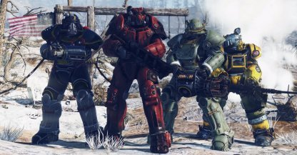 Fallout 76 Power Armor Locations How to Get Power Armors