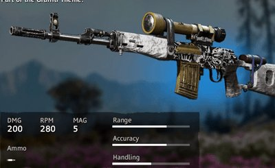 Far Cry New Dawn Claymore SVD