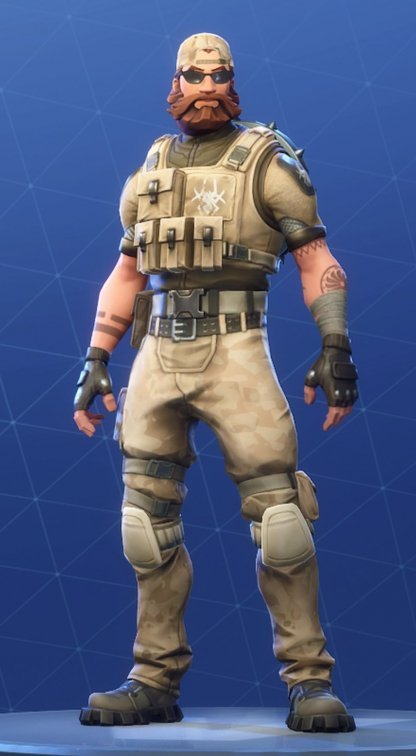 Skin Outfit SLEDGEHAMMER
