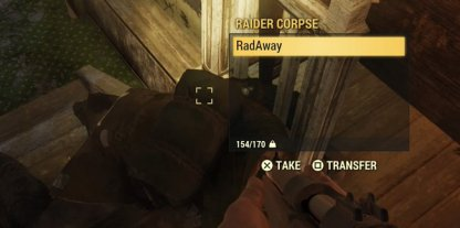Fallout 76 How to Find RadAway