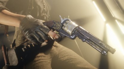 New Weapon: LeMat Revolver