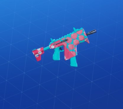 BUBBLY BOMBS Wrap - Submachine Gun
