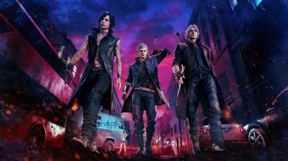 Devil May Cry 5 Playable Characters: Dante, Nero, & V