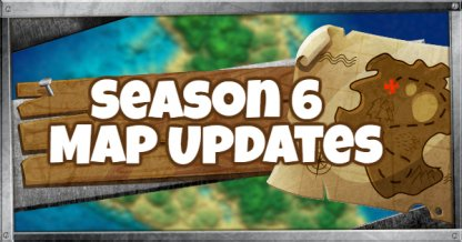 Fortnite Season 6 Map Updates New Locations Battle Royale