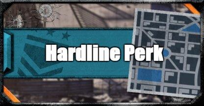 Hardline Perk