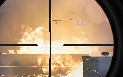 Shoot Explosive Containers To Burn Down Enemies