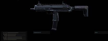CoD Modern Warfare Best Weapons - MP7