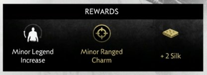 Legend Increase, Charm & Resources