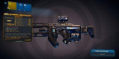 Needle Gun XXL - Legendary / Unique Weapon Stats & Traits