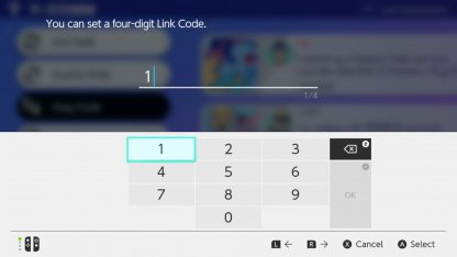 Set Link Codes With Friends