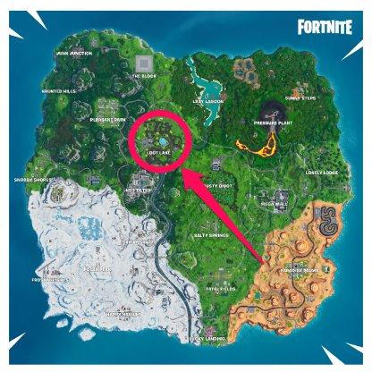 Loot Lake map