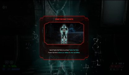 2. Upgrade With Praetor Suit Points