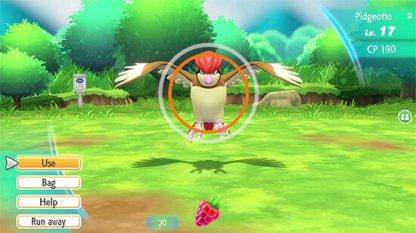 Simple Pokemon Catching Interface