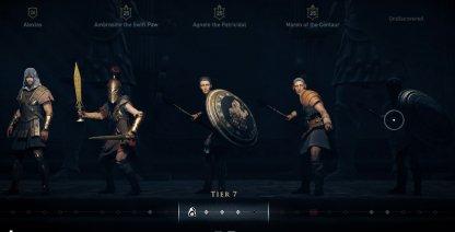 Greek Heroes Set Legendary Armor