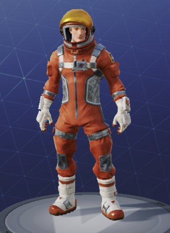 Skin Outfit MISSION SPECIALIST