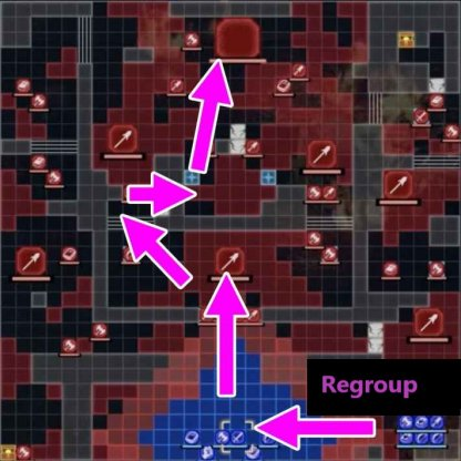The Fight for Fhirdiad battle tips - shortest route