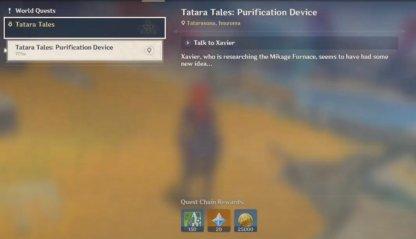 Tatara Tales: Purification Device Guide & Rewards