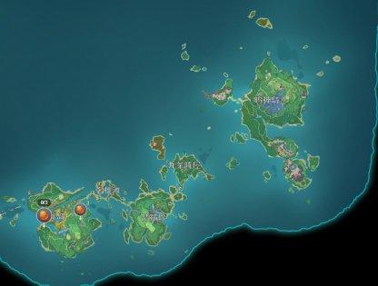 Inazuma Locations