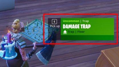 Pickup Up Traps
