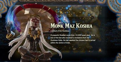 Monk Maz Koshia
