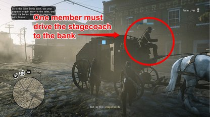One Member Must Drive The Stagecoach