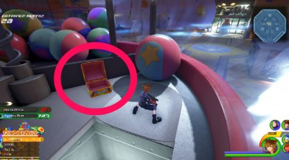 KH3 Toy Box Treasure Chest Locations