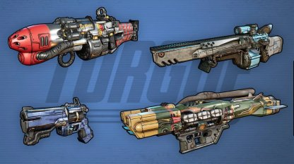 TORGUE - Weapon Brand Features