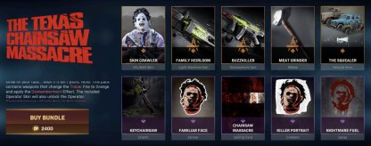 Texas Chainsaw Massacre Bundle