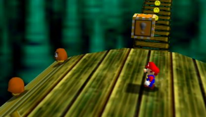 Take The 1-UP Mushroom From The Block