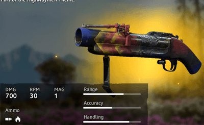 Far Cry New Dawn Color Spray M-79