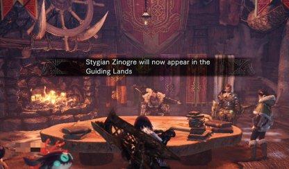 Talk To Seeker To Unlock Stygian Zinogre