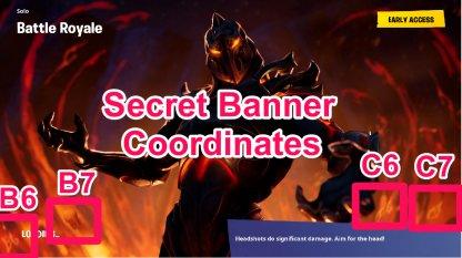 Secret Banner Location Overview